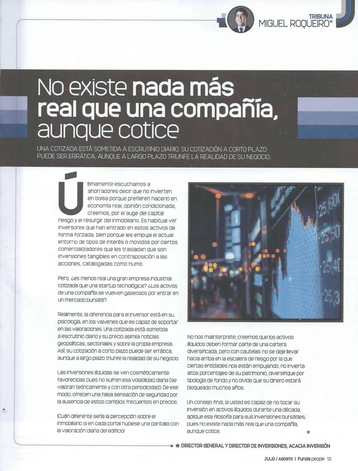 Miguel Roqueiro y Ander Arcaraz en Funds People
