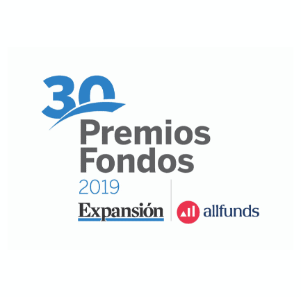logotipo premios expansion allfunds 2019 acacia renta dinamica